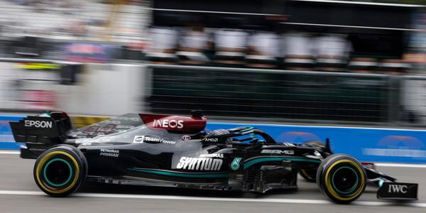 Hamilton najbrži na 1. treningu u Italiji